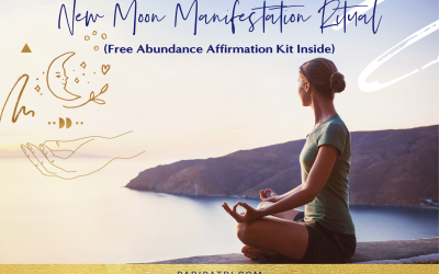 New Moon Manifestation Ritual (Free Abundance Affirmation Kit Inside)