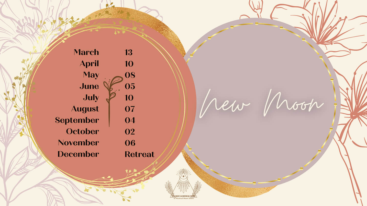New Moon Calendar